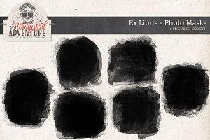 Photo Masks Ex Libris