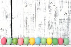 Easter decoration eggs