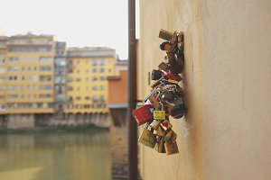 Locks of Love - Florence, Italy