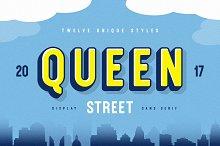 Queen Street Display Font