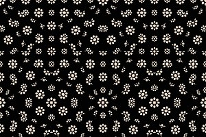 Dark Ditsy Floral Pattern