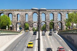 Aqueduct of Valens in Istanbul