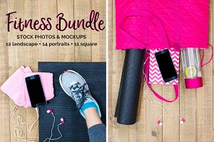 Fitness Yoga Bundle (14+ Images)