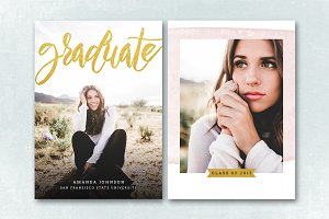 Senior Graduation Announcement 045