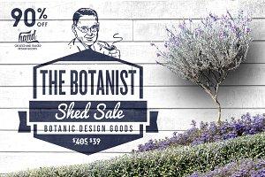 Botanic Shed Sale 90% Off