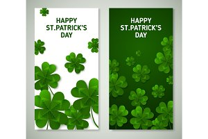 Saint Patrick's Day Vertical Banners
