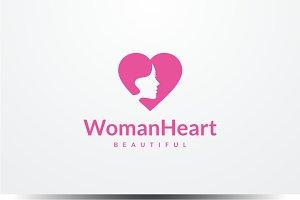 Woman Heart Logo