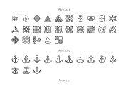 Allicons — 7276 Line Icons + FREEBIE