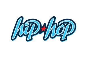 HipHop lettering