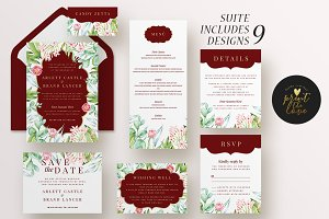 Wedding Invitation Suite - Majestic