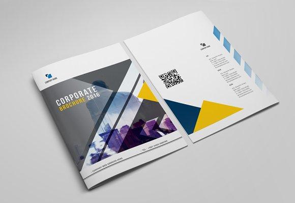 Brochure Template ~ Brochure Templates ~ Creative Market