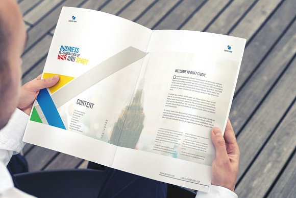Brochure Template in Brochure Templates - product preview 1