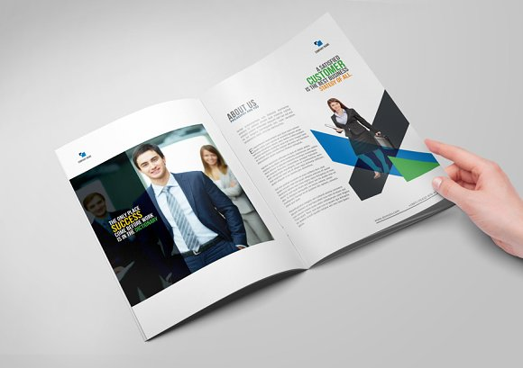 Brochure Template in Brochure Templates - product preview 2