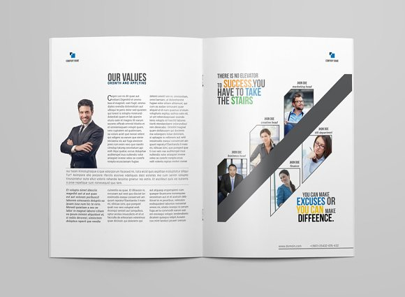 Brochure Template in Brochure Templates - product preview 3