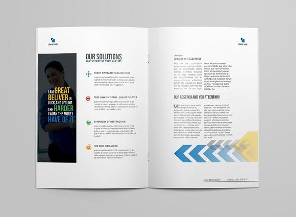 Brochure Template in Brochure Templates - product preview 4