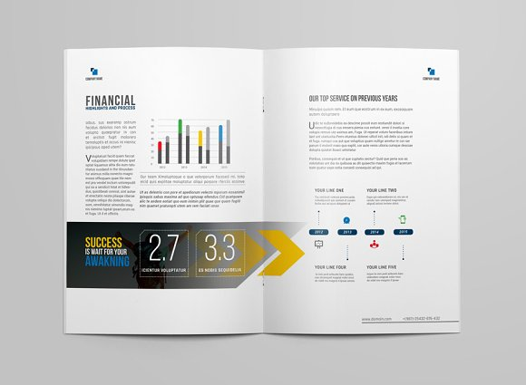 Brochure Template in Brochure Templates - product preview 5