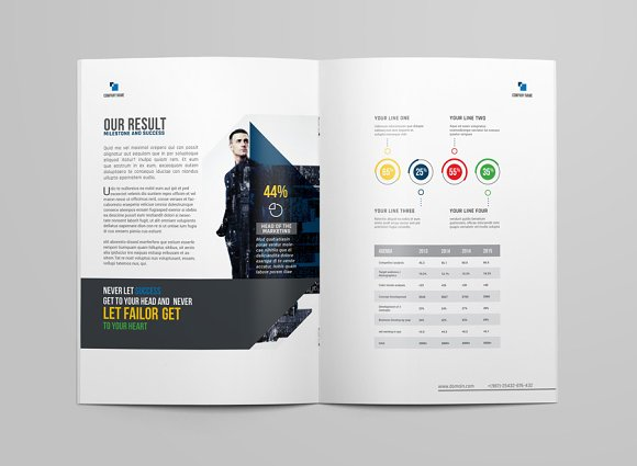 Brochure Template in Brochure Templates - product preview 6