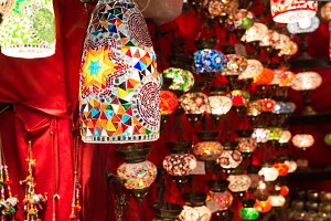 Colorful Turkish lanterns