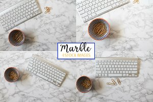 Marble iMac Keyboard | 4 Pack Photos