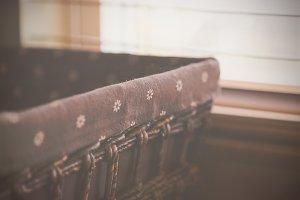 Basket by Window