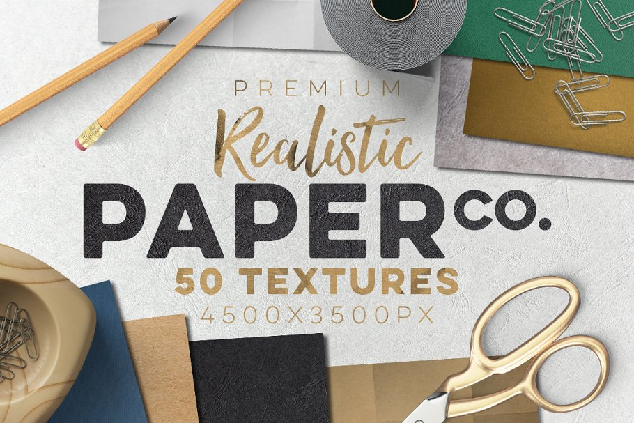 50 Paper Textures Set Textures Creative Market