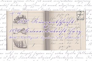 1880 Kurrentschrift (+Kur. Easy) OTF