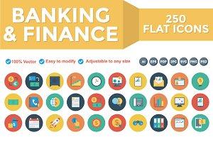 Banking & Finance Flat Cirlce