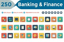 Banking & Finance Rounded Shadow