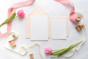 Spring Floral Invitation Suite