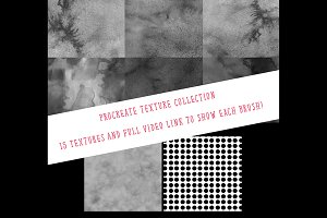 Textures for Procreate