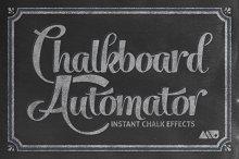 Chalkboard Automator - Chalk Effects