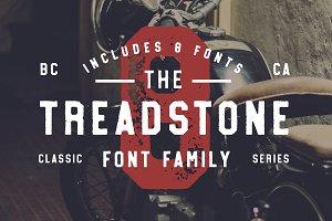 Treadstone - 8 Font Family