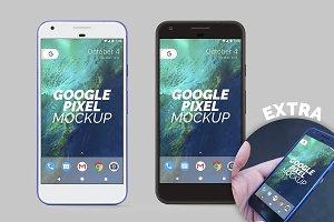 Google Pixel Mockup (w/ great extra)
