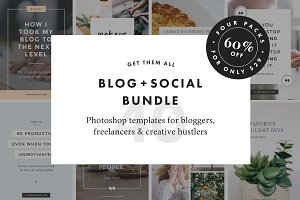 Blog + Social Bundle