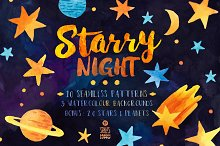 Starry Night, Pattern Pack
