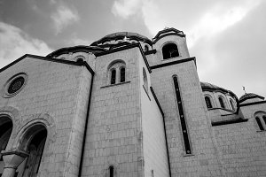 Church of Saint Sava (2 photos)