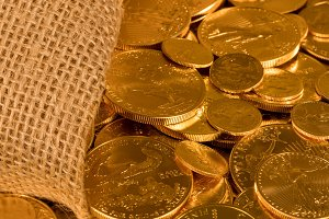 Liberty Gold Eagle one ounce coins
