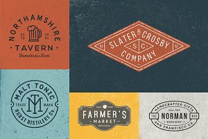 10 Logo/Badge Templates Vol.4