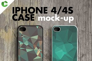 IPHONE 4/4S CASE MOCK-UP 2d printing