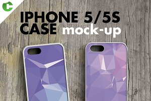 IPHONE 5/5s CASE MOCK-UP 2d printing
