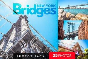 New York Bridges /25 pics