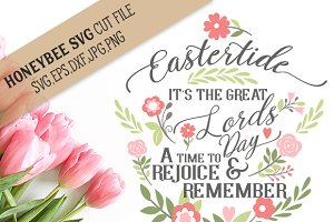 Eastertide cut file