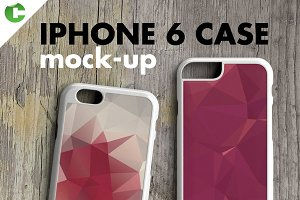 IPHONE 6 CASE MOCK-UP 2d printing
