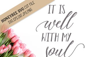 It's Well With My Soul cut file