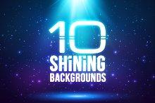10 magic light backgrounds (eps+jpg)