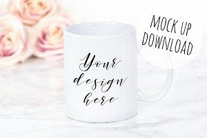Pretty Mug Mockup Photograph