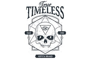 True Timeless #2 | Vector Skull