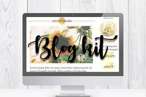 Feminine Blog kit | Branding kit