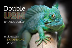 DoubleUSM 2 for Photoshop