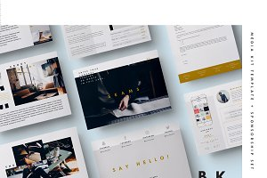 Blog Media Kit + Sponsorship | 8 Pgs